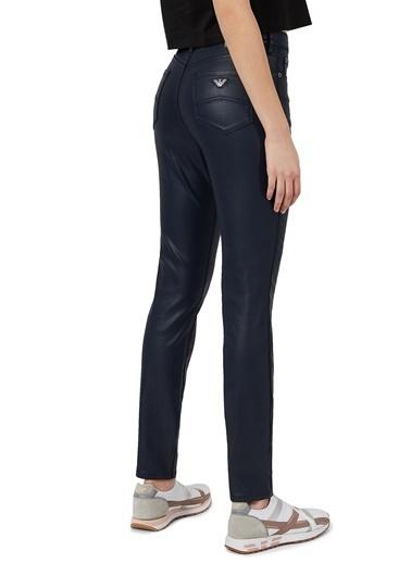 Emporio Armani  Yüksek Bel Skinny J20 Jeans Kadın Pamuklu Pantolon 3K2J20 2Nswz 0927 Lacivert